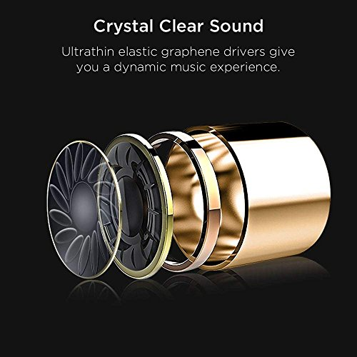 True Wireless Bluetooth Earbuds, ESR in-Ear Wireless Earphones Dynamic Graphene Drivers Portable Charging Case, Bluetooth 4.2 Earbuds iPhone, Samsung Android Phones by ESR (Image #3)