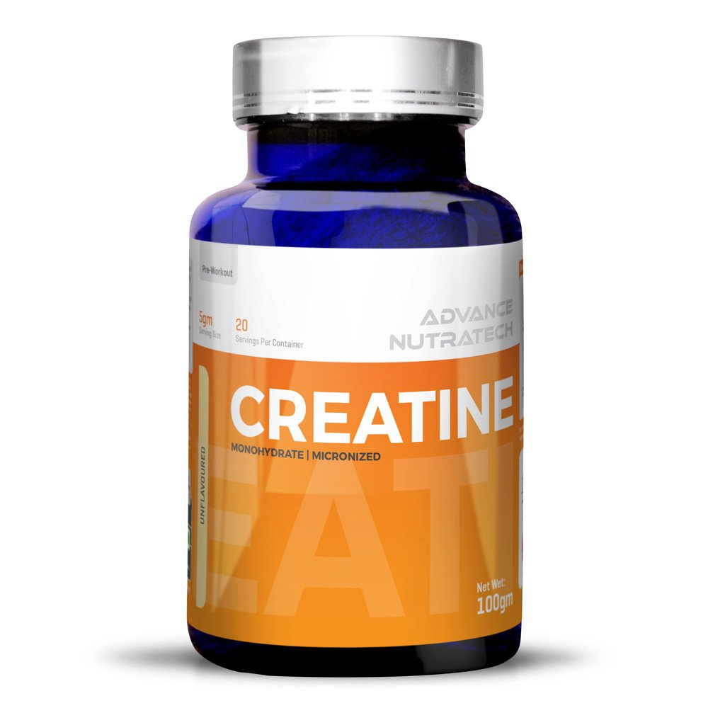 Creatine Monohydrate unflavored 100 gm For Beginners