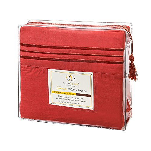 Clara Clark Premier 1800 Collection Deluxe Microfiber 3-Line