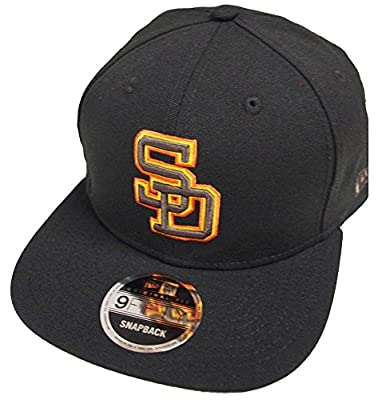 New Era San Diego Padres Cooperstown Classics Snapback Cap Black 9fifty 950 Limited Special Edition