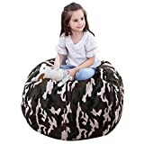 Gatycallaty Child Bean Bag Sofa Chair Storage Bags Beanbag Chair Fabric Clothes Bag Sofa Lounger Cotton Canvas Bag - Premium Quality Canvas - Storage Solution for Bedroom