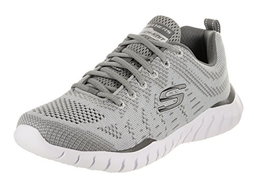 Cheap Skechers Overhaul Debbir Mens Sneakers Gray/Charcoal 9.5