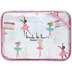 Nicole Miller Ballerina Ballet Class Soft Touch Cotton Twin Sheet Set