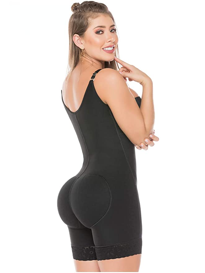Salome 0216 Fajas Colombianas Reductoras Moldeadoras Completas Postparto Shaper at Amazon Womens Clothing store: