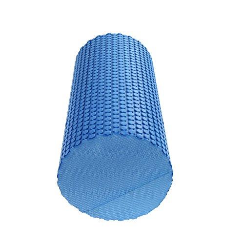 Yoga Blocks Gym Exercise Fitness Floating Point EVA Yoga Foam Roller Physio Trigger Massage Fitness Gym Sport Tool Yoga Foam Roller (Blue) by