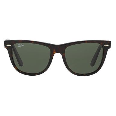 RAY BAN RAY-BAN Sonnenbrille »WAYFARER RB2140«, schwarz, 901/58 - schwarz/grün