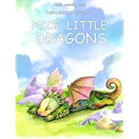 Adult Coloring Book: Nice Little Dragons: Volume 1
