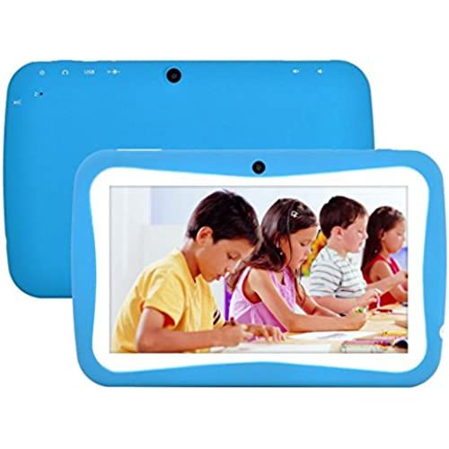 7 inch WIFI Tablet PC Android 4.4 KitKat Quad Core 8G Storage HD 1024 x 600 LCD Display Tablet for Kids Education Coupons