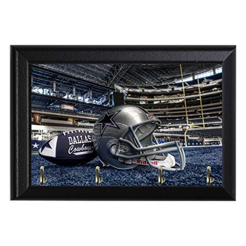 Dallas Cowboys Decorative Wall Plaque Key Leash Coat Jewlery Hook Holder Hanger 8