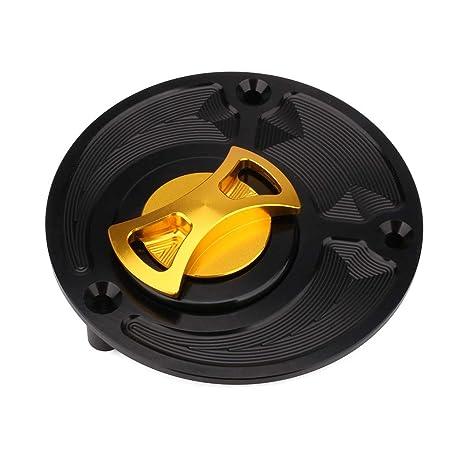 CNC Keyless Gas Fuel Tank Cap Cover For Yamaha FZR750 YZF600 YZF R1 R6 YZF1000