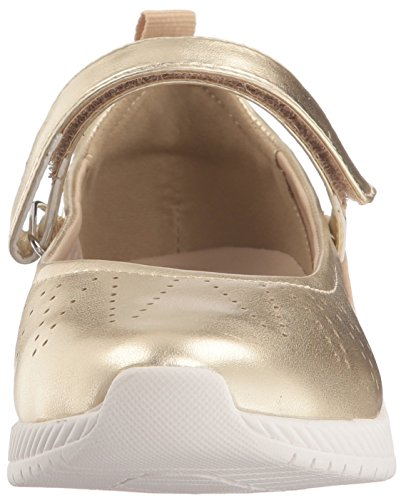Easy Spirit Women's Garima Mary Jane Flat Gold aee7ZNgTI