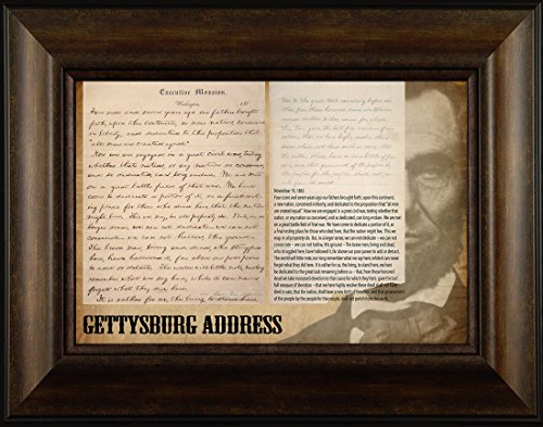 Gettysburg Address by Todd Thunstedt 20x26 Patriotic for sale  Delivered anywhere in USA