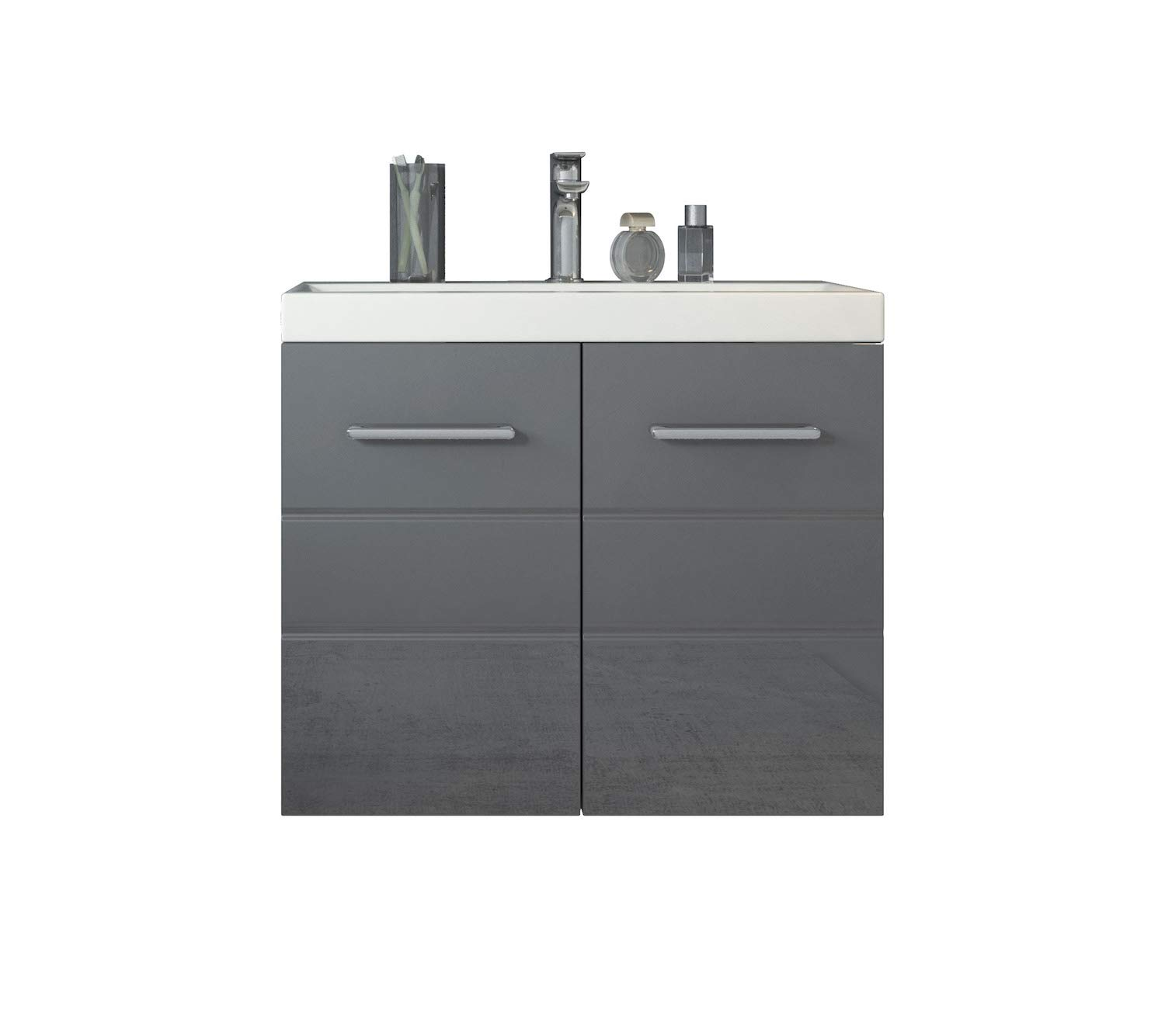 Badplaats Bathroom cabinet Toledo 01, Basin 60 x 35 cm - Storage cabinet vanity unit sink furniture