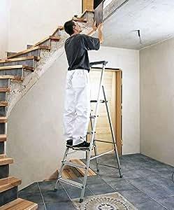 Zarges hymer escalera aluminio 6stufen 1seitig for Escaleras zarges