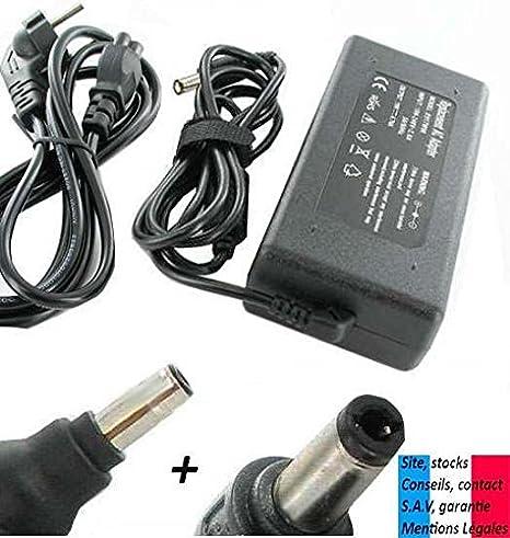 Cargador/Fuente de alimentación para ordenador portátil, compatible con COMPAQ Presario E-force ® F 700-90W v, 4,74 A: Amazon.es: Informática