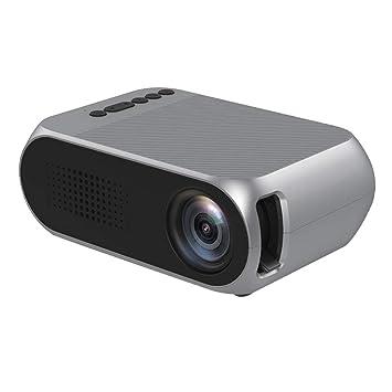 P PRETTYIA Multimedia Proyector Cine en Casa, Soporte 1080p HD ...