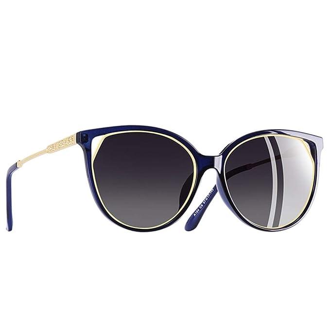 Wang-RX Gafas de sol de ojo de gato de las mujeres ...