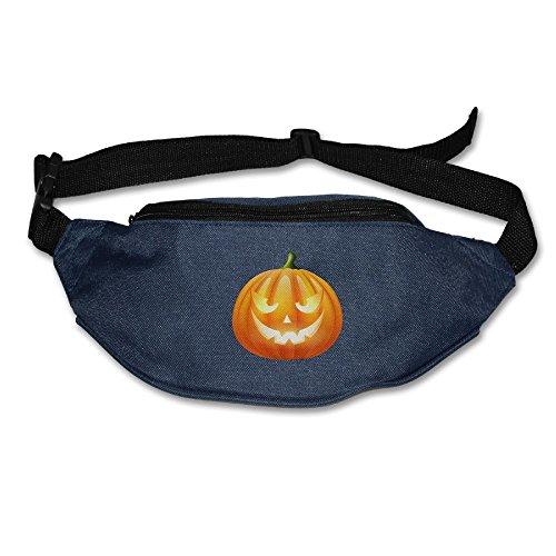 Halloween Pumpkin PNG Clipart Image Running Waist Pack Bag Outdoor Sports Purse Pocket For Hiking Climbing Men Women]()
