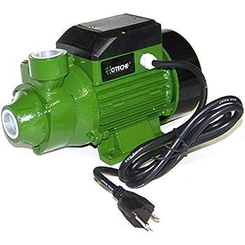 "3/4 Hp Centrifugal Electric Water Pump Pool Farm Pond Biodiesel Hoteche 1"""
