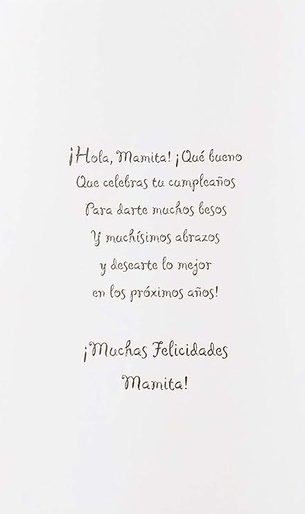 Amazon.com : Muchas Felicidades Mamita - Feliz Cumpleanos ...