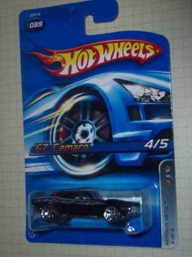 Motown Metal Series #4 1967 Camaro Y5 Wheels #2006-89 Collectible Collector Car Mattel Hot Wheels