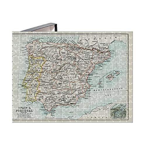 Media Storehouse 252 Piece Puzzle of Antique map of Spain and Portugal (15107377) ()