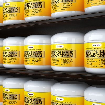 Amazon.com : Stretch Marks & Scars Cream - Best for Stretch Mark ...