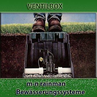 VBA02673 Runder Ventilkasten mit Deckel mit Schnappverschluss von Rain Bird