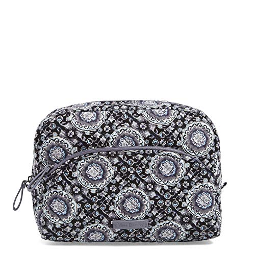 Vera Bradley Iconic Large Cosmetic,  Signature Cotton, One Size