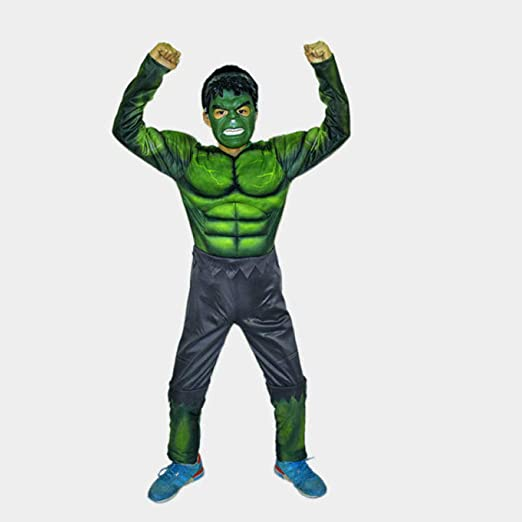 BLOIBFS Disfraz De Vengadores,Disfraces Ssuperheroes Ninos Hulk ...