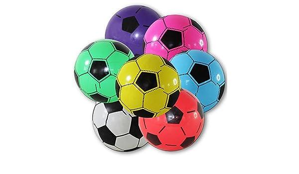 4 x Plástico Balón de fútbol pelota de 20 cm