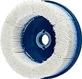 PFERD 84246 M-Brad High Density Composite Disc Brush, Ceramic Oxide, 6'' Diameter, 0.040 Round Filament, 2500 rpm, 80 Grit