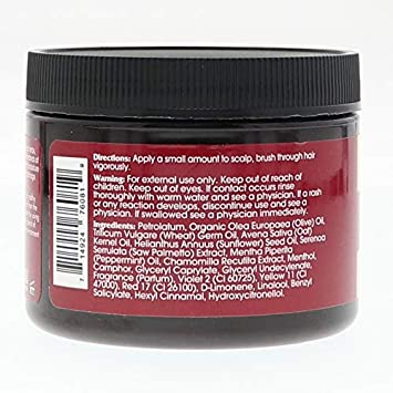 Groganics Hair Gro-N-Wild Conditioning Creme, 6 oz Pack of 6