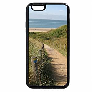 iPhone 6S / iPhone 6 Case (Black) Path through dune