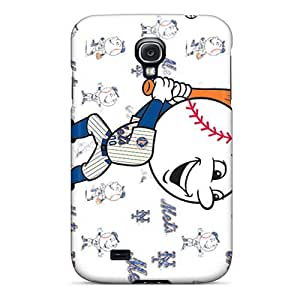Scratch Resistant Hard Cell-phone Case For Samsung Galaxy S4 (sfZ5504fCzm) Allow Personal Design Attractive New York Mets Pictures
