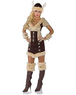 Net Toys Fasching Kostum Wikingerin Barbarin Kriegerin