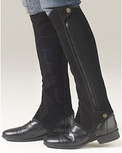 Half Chaps Precision Suede Ovation Fit Black f0Z4qnxTwn