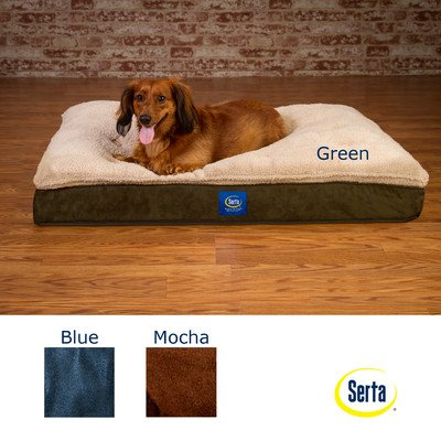 Super Pillowtop Orthopedic Pet Bed Color: Blue, My Pet Supplies