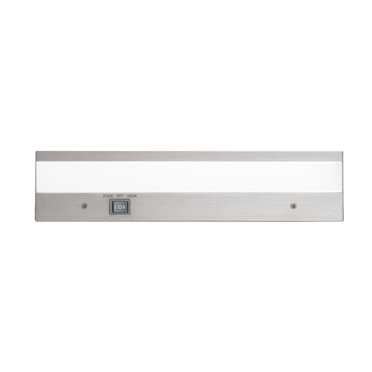 WAC Lighting BA-ACLED12-27/30AL Duo ACLED Dual Color Option Bar in Brushed Aluminum Finish; 2700K and 3000K, 12 Inches