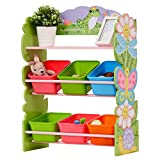 Fantasy Fields TD-12245AR Bins Organizer, Magic Garden Pink