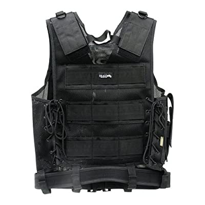 Drago Gear Airsoft Fast Draw Tactical Vest - Black