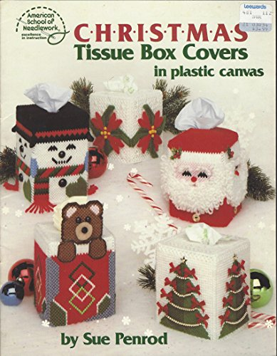 Plastic Canvas Tissue Covers (Plastic Canvas Christmas Tissue Box Covers in Plastic Canvas (3053) (3053))