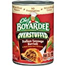 Chef Boyardee Big Overstuffed Italian Sausage Ravioli, 15-Ounce Cans (Pack of 12)