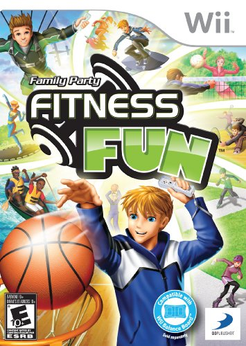 Family Party: Fitness Fun - Nintendo Wii (Nintendo Family)