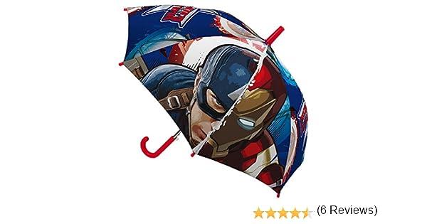 Marvel- Paraguas Infantil, 45 cm, Civil War, , Capitán América y ...