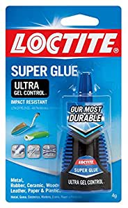 Loctite Ultra Gel Control Super Glue 4-Gram (1363589)