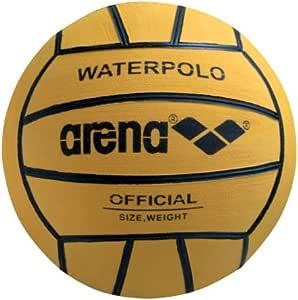 ARENA 0000095203-039 Balón de Waterpolo, Mujer, Amarillo (Negro ...