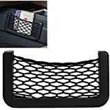 iTimo New Car Storage Net Automotive Pocket Organizer Bag for Mobile Phone Holder Auto Pouch Adhesive Visor Box Car…