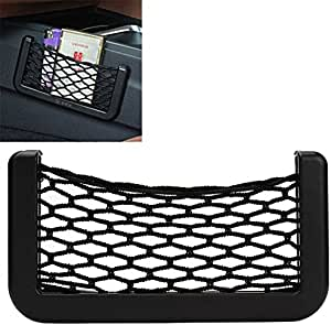 iTimo New Car Storage Net Automotive Pocket Organizer Bag for Mobile Phone Holder Auto Pouch Adhesive Visor Box Car Accessories