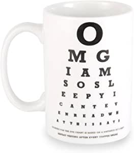 Wild Eye Designs Coffee Mug Eye Chart